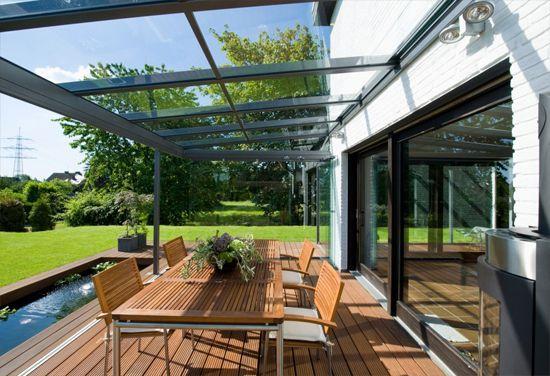 nowoczesna veranda